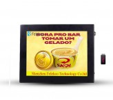 Digital signage player 8 inch programmable signs