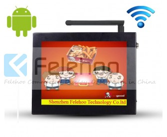 12.1inch LCD WIFI player linux digital signage web based