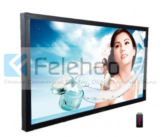 Digital signage indoor TV 82 inch digital advertising signs