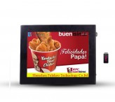 Digital signage media player 12.1 inch lcd advertising display