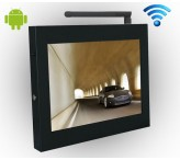 wifi lcd advertising player 15inch signage hardware tv signage