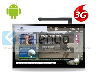 3g/4g advertising player for 60 inch dynamic online digital signage