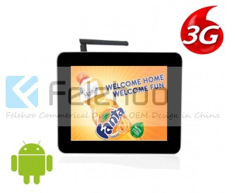 3g/4g tv for advertising 10.4 inch electronic advertising boards