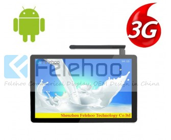 3g/4g network digital signage boards 32inch commercial display monitors