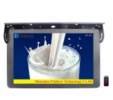 Bus advertising video player for 27 inch electronic signage systems