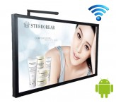 digital signage wifi 75inch electronic advertising display screen