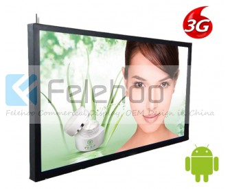 digital signs 3g for 72inch network digital signage player