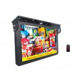 22 inch Bus advertising player with lcd screen for advertising tv