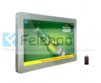 32 inch bus advertising screen video signage electronic display board
