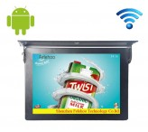 15 inch lcd display wireless ceiling bus monitor business display signs