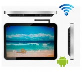 lcd advertising wifi player 19.1inch commercial monitor display