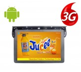 Bus coach 3g/4g advertising tv video player for 22 inch
