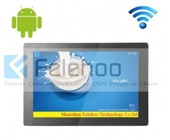 Bus wifi lcd player for 18.5 inch digital business signs