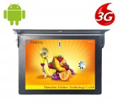 17 inch 3g/4g bus media player digital signage