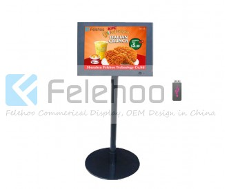 10.4 inch electronic signs for businesses digital billboard advertising