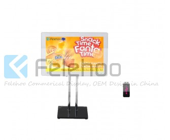 15inch desktop stand-alone lcd advertising player