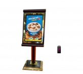 32inch free stand electronic signage displays digital advertising monitor