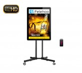 40inch mobile lcd advertising digital menu screen usb plug and play