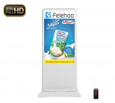46inch lcd kiosk indoor advertising display totem