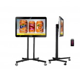 50inch free standing led advertising digital display board