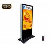 60inch free standing lcd advertising display totem