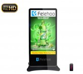 Free standing lcd AD player 70inch lcd screen