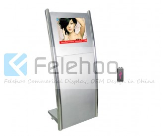 15 inch digital signage kiosk stand electronic signage boards