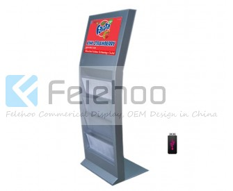 17 inch electronic advertising boards digital media signage