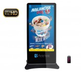 65 inch floor stand lcd advertising display
