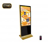 indoor stand advertising display 46inch screen