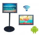 12.1 inch Android wifi floor standing advertising display