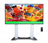 84inch floor stand display advertising digital menu board