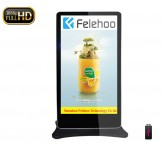 Floor Standing Advertising Display 84inch lcd screen board