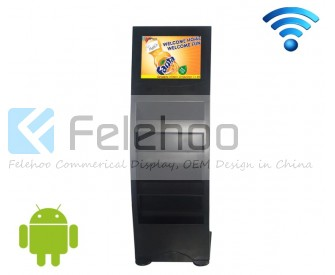 17 Iinch android advertising player with wifi conection