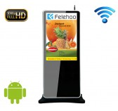 42 inch Android wifi digital signage kiosk stand