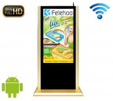 50 inch wifi floor stand advertising display