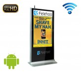 55 inch wifi kiosk advertising display