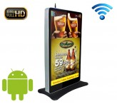 84 inch 4K UltraHD stand kiosk wifi network advertising player