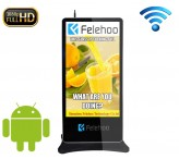 70 inch wifi floor stand advertising player