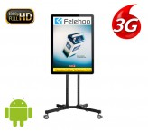 3g/4g vertical digital signage programmable electronic signs