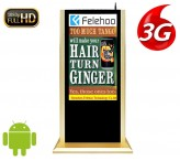 52inch 3g/4g advertising lcd advertising player stand kiosk