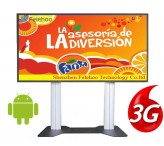 82 inch 3g/4g kiosk advertising lcd player digital totem kiosk