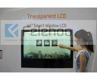 32 inch Embedded Transparent LCD Advertising Display