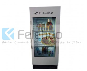 46 inch Refrigerator Transparent LCD Advertising Display