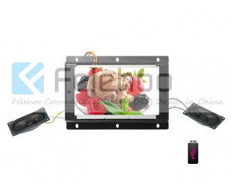 12.1 inch open frame lcd advertising player for shop