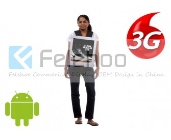 18.5 inch Backpack Advertising Player-Android 3G/4G network