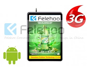 26 inch Vertical Display Digital Advertising Player with 3G/4G