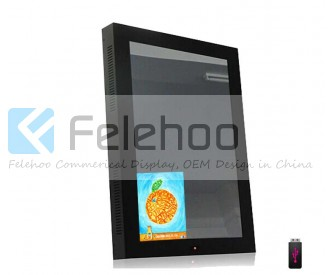 42 inch Magic Mirror TV LCD Digital Signage  with body sensor auto on/off