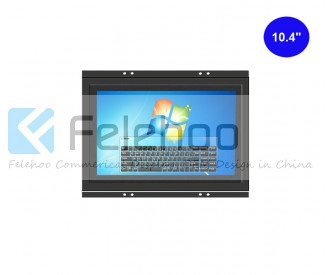 10.4 inch Frameless IR Touchscreen Monitor open frame