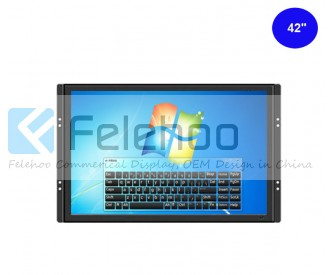 42 inch Open Frame IR Touchscreen Monitor with Multi touch optional